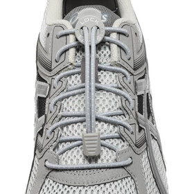 Lock Laces Run Laces grigio